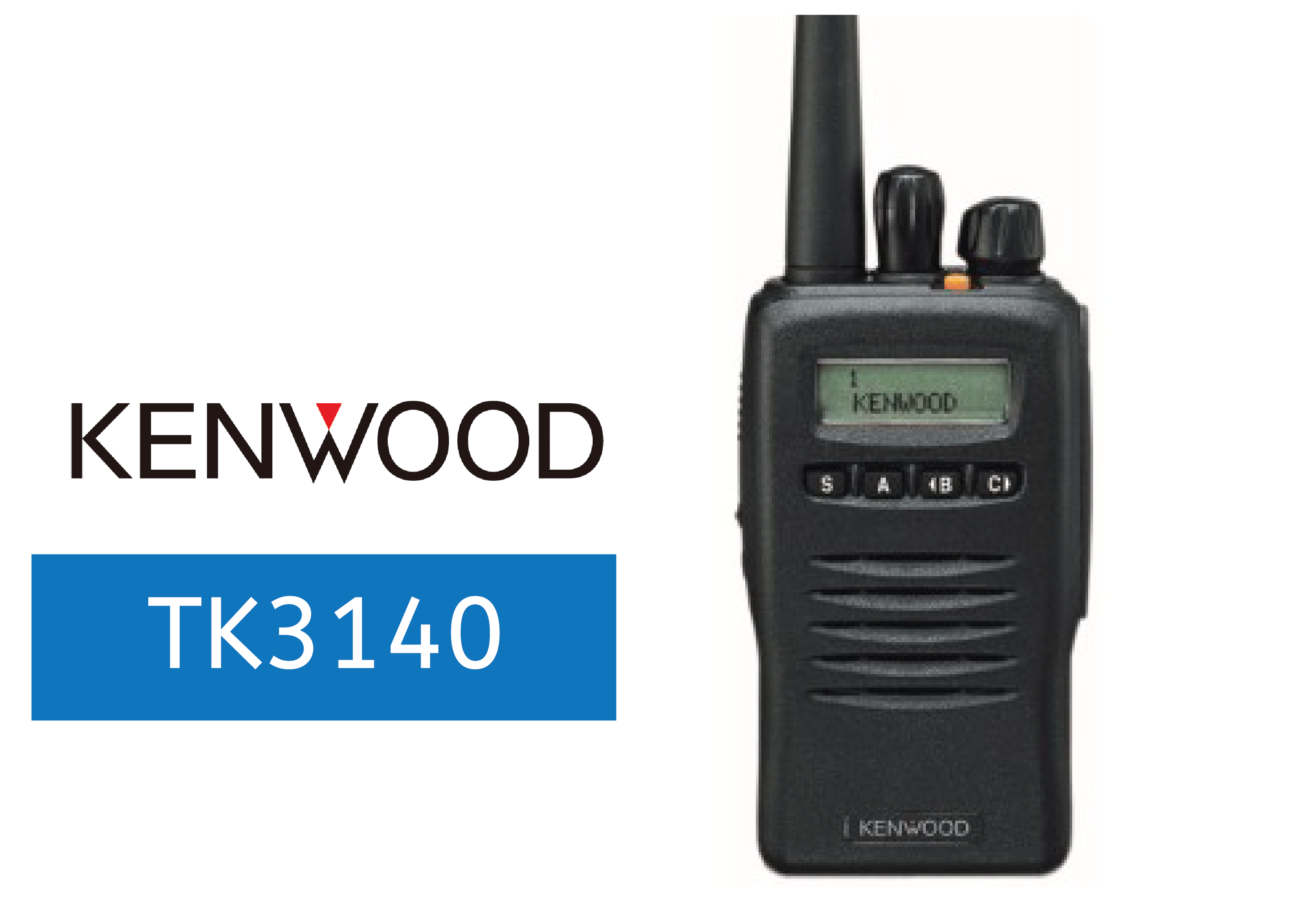 KENWOOD-TK3140-FULL-POWER-RADIO