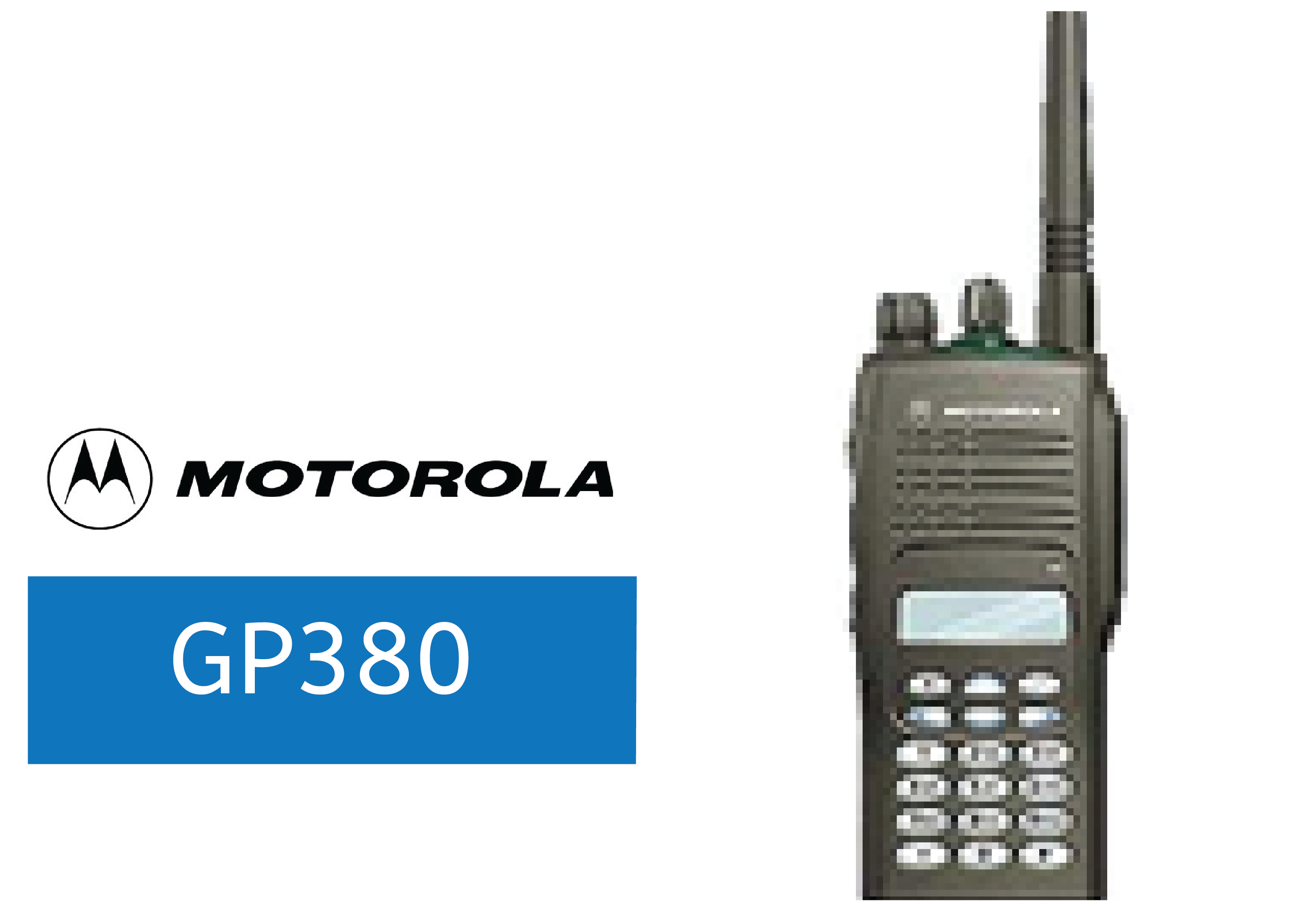 MOTOROLA-GP380-FULL-POWER-RADIO
