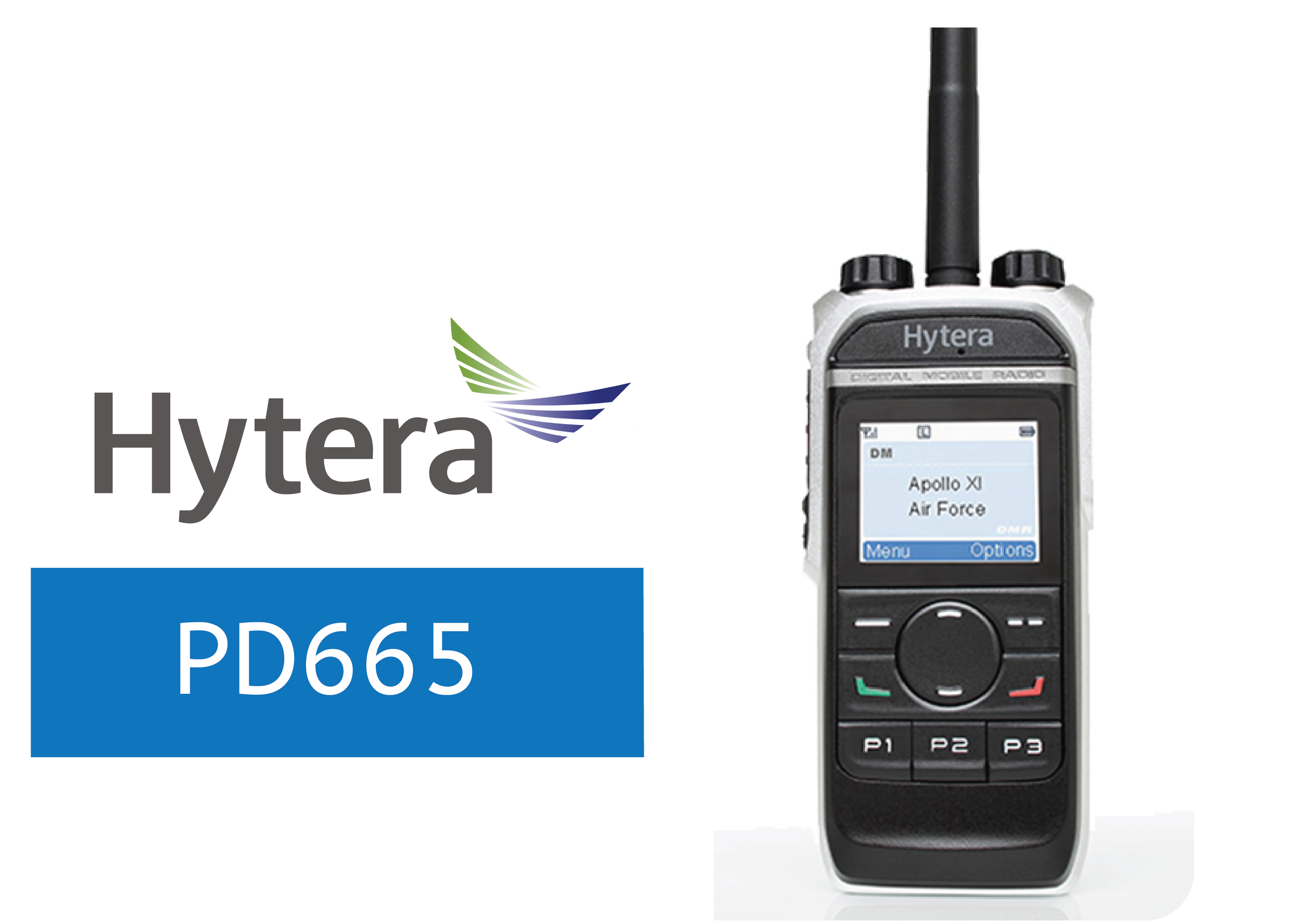 HYTERA-PD665-DIGITAL RADIO
