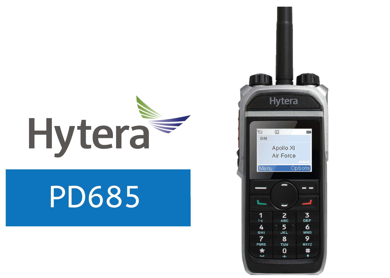 HYTERA-PD685-DIGITAL RADIO