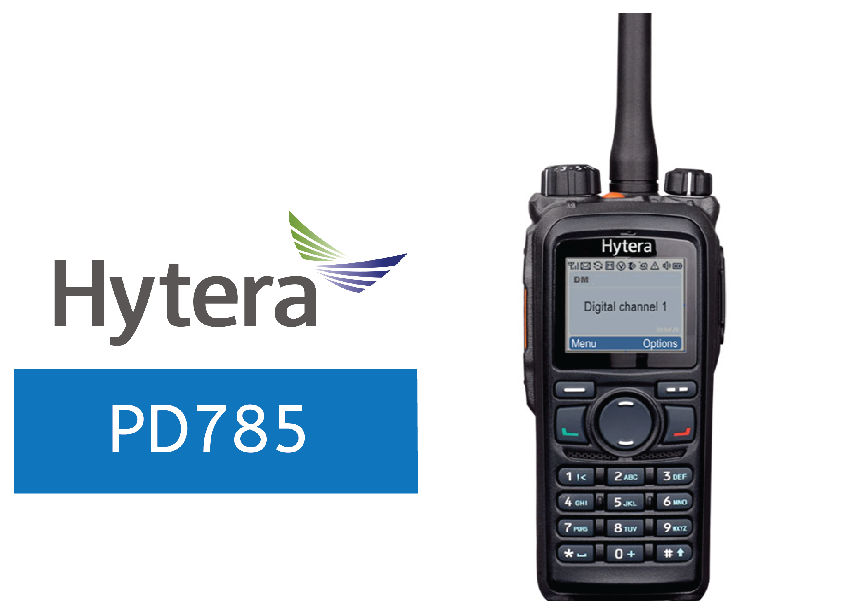 HYTERA-PD785-DIGITAL RADIO