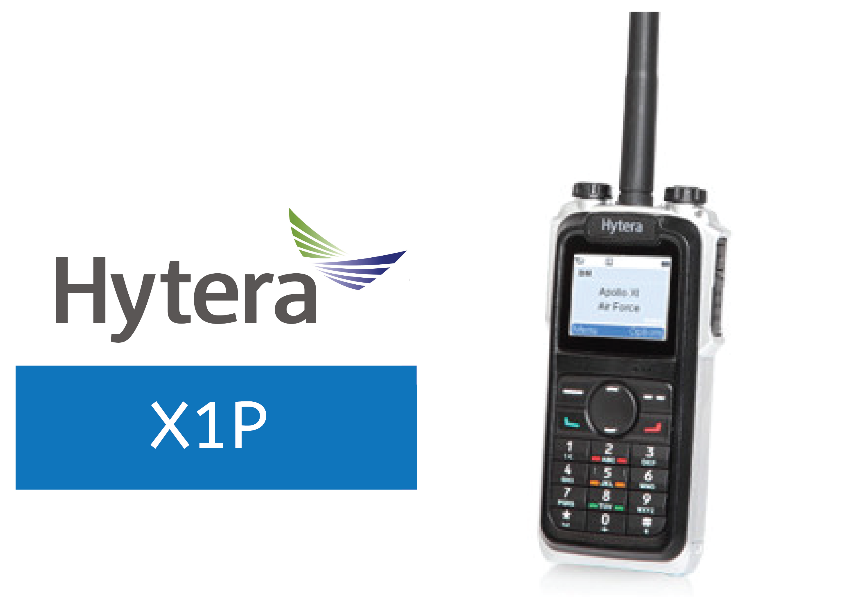 HYTERA-XP1-DIGITAL RADIO