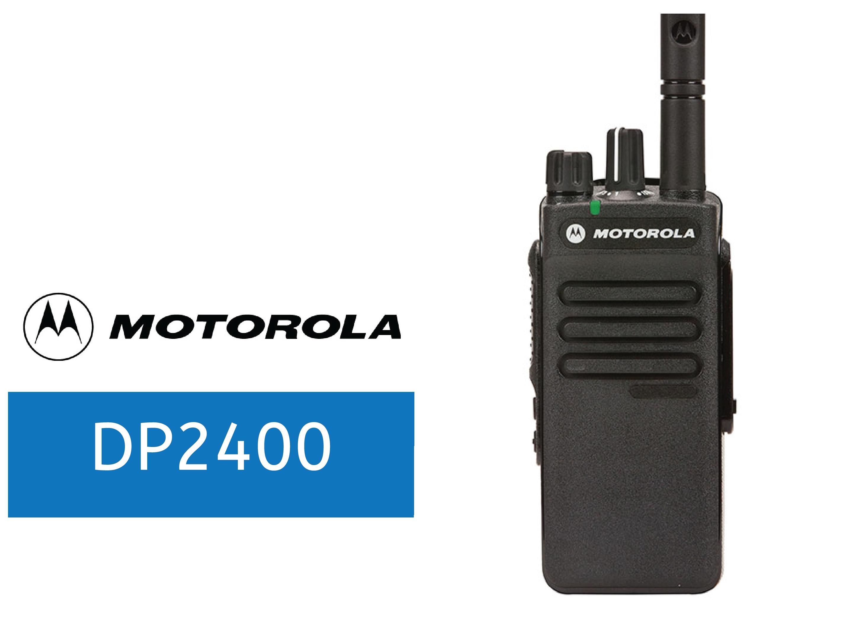 MOTOROLA-DP2400-DIGITAL RADIO
