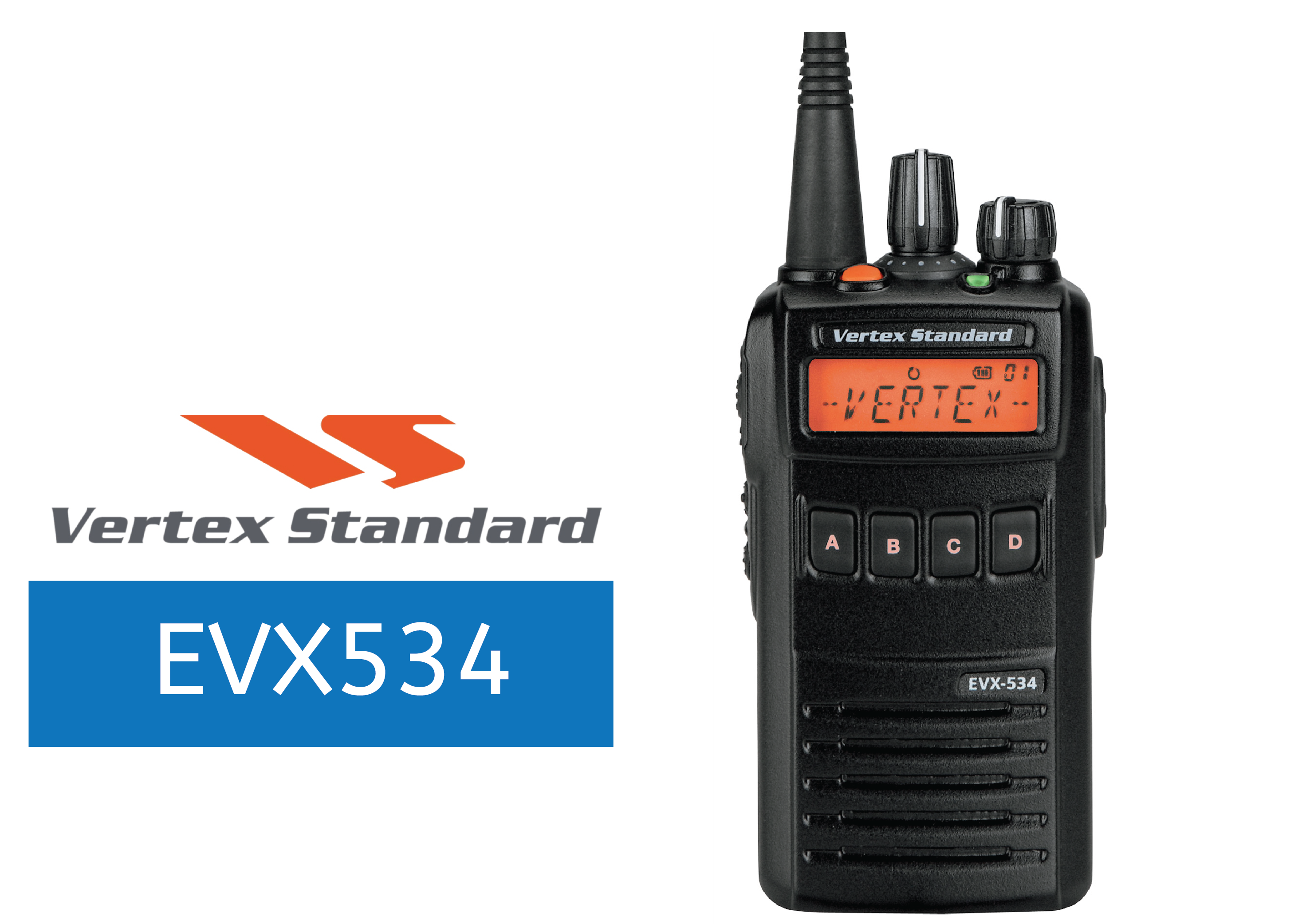 VERTEX-EVX534-DIGITAL RADIO