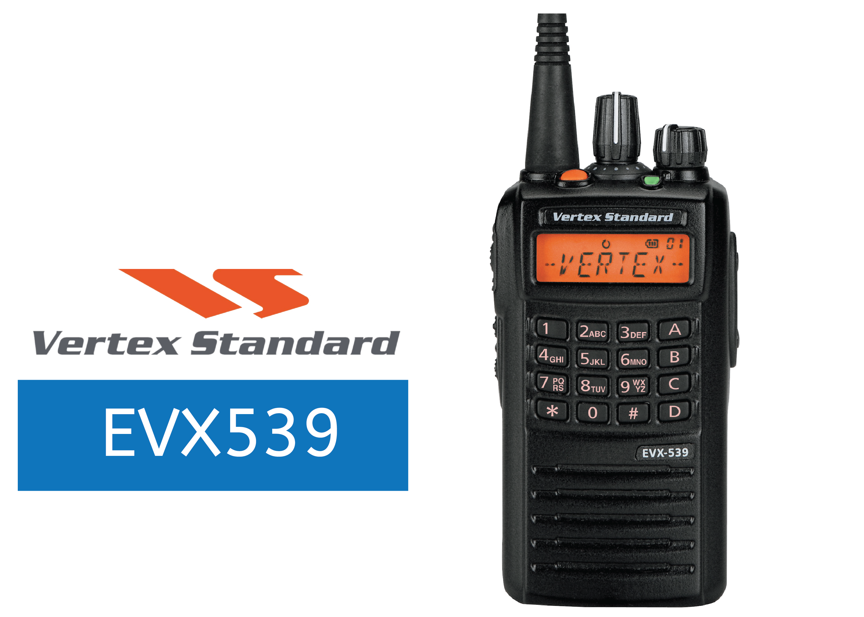 VERTEX-EVX539-DIGITAL RADIO