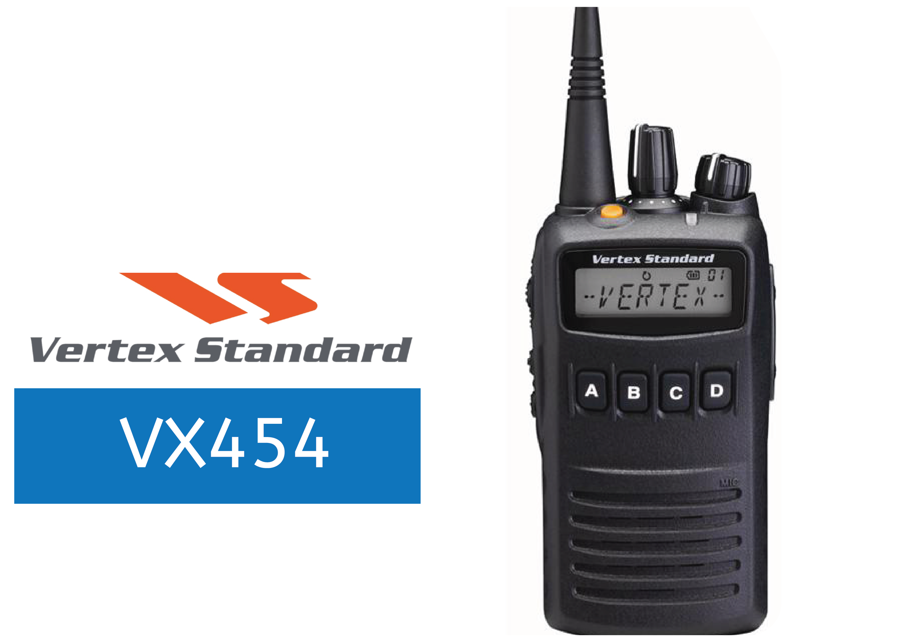 VERTEX-VX454-FULL-POWER-RADIO